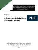 Prinsip Dan Teknik Manajemen Kekayaan Negara