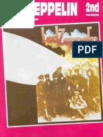 Songbook Led Zeppelin II Bass Guitar Vocal Drum