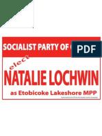Natalie Elect Sign