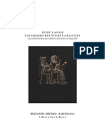 (Ebook - Esp) - Kurt Lange - Pirámides, Esfinges, Faraones