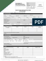 Graduate Studies Form-FEU