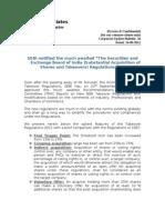 Corporate Update Bulletin 26