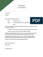 Surat Penutupan