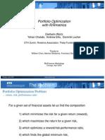 Rmetrics Presentation