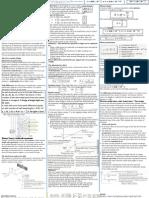 Physics Unit 4 Cheat Sheet - Daniel