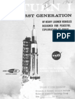 Saturn I the First Generation of Heavy Launch Vehciles for Peaceful Exploration of Space