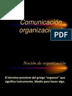Comunicacion organizacional_ organizaciones tipos y funciones