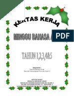 Kertas Kerja Minggu Bahasa Arab 2011
