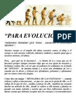 Para Evolucionar