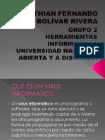 CRISTHIAN FERNANDO BOLÍVAR RIVERA