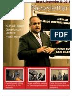 Alpfa Newsletter Fall2011 No. 4