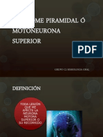 Sindrome Motoneurona Superior e Inferior