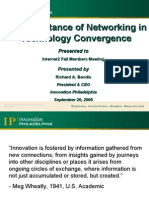 Importance of Networking in Tech Convergence
