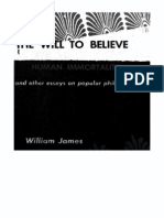 William James - The Will to Believe. Human Immortality and Other Essays in Popular Philosophy ##########