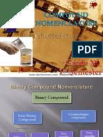 6. Compound Nomenclature