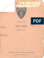 Ms# P-059 Project # 47 Tank Losses