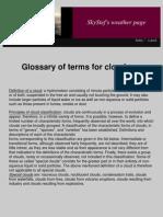 Cloud Glossary