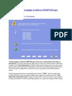 Mengatasi System Plugin at Address 0X00874324 Got Critical Error