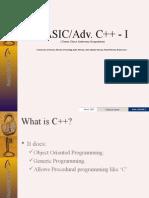 BASIC_Adv C++_I