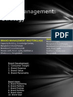 Brand Management Strategy PPT