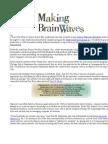 Making Brain Waves