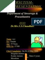 Hirsutism Case Presentation