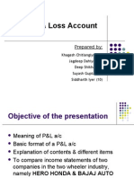 PandL Account Presentation - Final