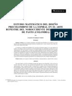 ESTUDIO MATEMÁTICO DEL DISEÑO