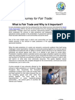 What is Fair Trade and Why It is Important