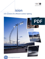 Outdoor LED Luminaires Brochure 2011