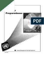 Disaster Management Training Program Preparedness UNDP