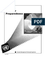 Disaster Management Training Program Preparedness UNDP