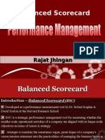 Balanced Scorecard by Rajat Jhingan