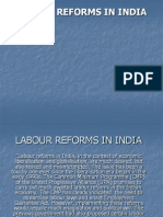 Labour Reforms in India