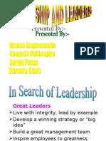 MTP Leadership