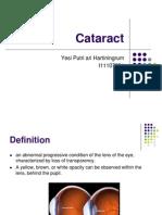 PSSS-Mata Tenang Visus Turun Perlahan