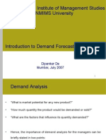 MBA-CM_ME_Lecture 6 Demand Forecasting
