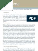 Hawkamah Brief on GCC Code