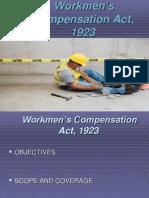 Workmen's Compensation Act 1923