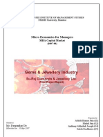 Gems and Jewellery Final Project Report