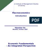 Macroeconomics Lecture 1