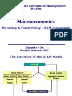MacroEconomics_Lecture 4- IsLM Model