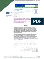 IMF Lending-moral Hazard