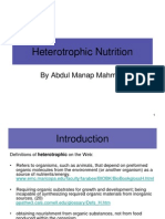Heterotrophic Nutrition