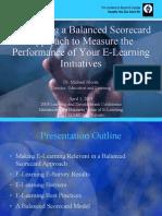 Balanced Scorecard Elearning_presentation