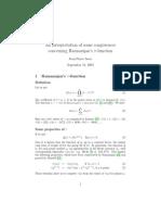 An Interpretation of Some Congruences Concerning Ramanujan's Tau-function