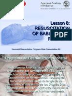 RCP neonatal Lesson 8 Spanish April 2007