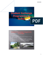 Student Exchange Programme in Serbia