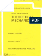 Theory and Problems of Theoretical Mechanics (Schaum Outline)