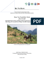 BaBe Shan Tea Feasibility Study